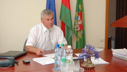 В Глубоком приём граждан проведёт Председатель Палаты представителей Национального собрания Республики Беларусь Владимир Павлович Андрейченко