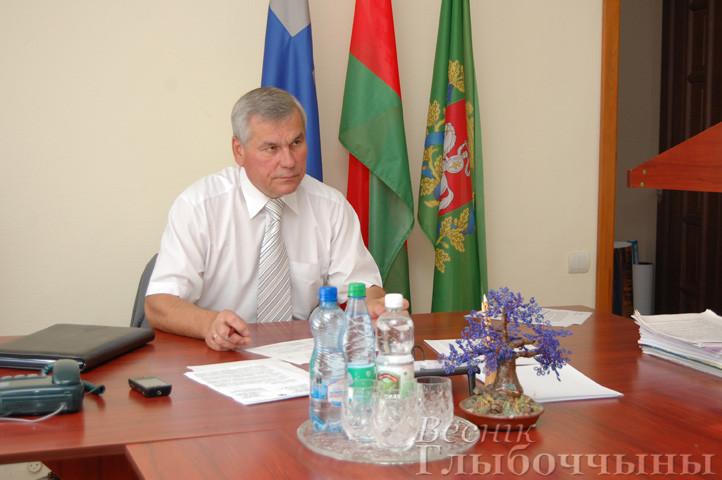 17 февраля 2017 года в Глубоком приём граждан проведёт Председатель Палаты представителей Национального собрания Республики Беларусь Владимир Павлович Андрейченко.