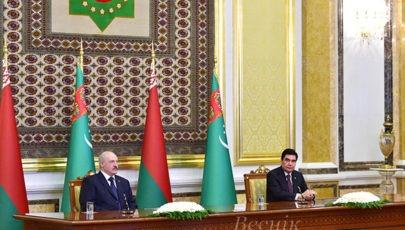 Тема недели: визит Президента Беларуси в Туркменистан