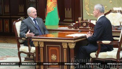 Лукашенко обсудил с Андрейченко работу парламента, подготовку к сессии ПА ОБСЕ и ситуацию в Витебской области