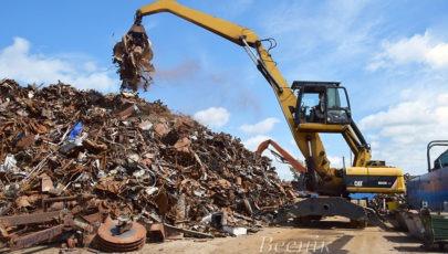УП «Витебсквторчермет» Глубокский цех: объёмы заготовки металлолома  растут