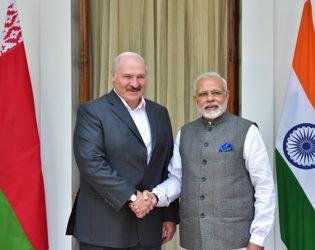 Визит Президента Беларуси в Индию