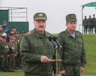 Тема недели: Совместное учение вооруженных сил Беларуси и России «Запад-2017»