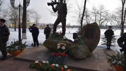 В парке Победы в Глубоком состоялся митинг, посвящённый 29-й годовщине вывода советских войск из Афганистана (ФОТОРЕПОРТАЖ)