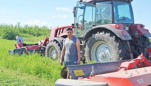 Витебский облсельхозпрод объявил соревнование на заготовке травяных кормов