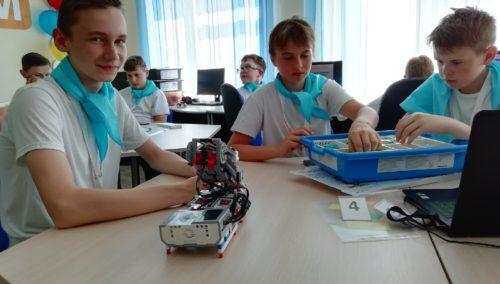В Глубокской районной гимназии открылся ресурсный центр цифрового образования при поддержке Парка высоких технологий