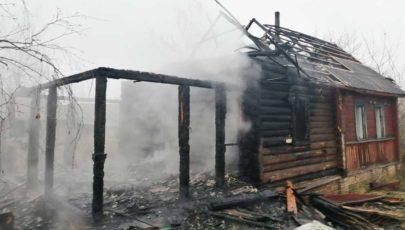 За прошедшие сутки в Глубокском районе сгорели дом и квартира