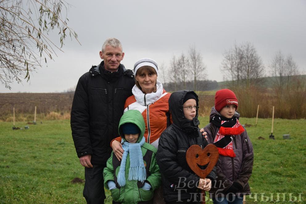 Новости глубокского района аллея многодетных