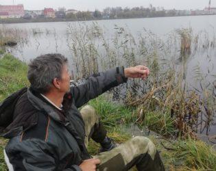Воскресная рыбалка на озере Кагальное в Глубоком