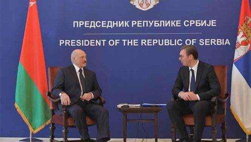 Визит Президента Республики Беларусь Александра Лукашенко в Сербию