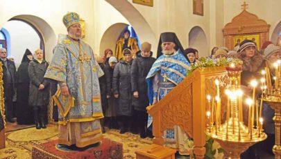 Березвечский Свято-Михайловский женский монастырь посетил епископ Полоцкий и Глубокский Игнатий