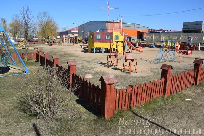 Глубокое Детская площадка Бригантина