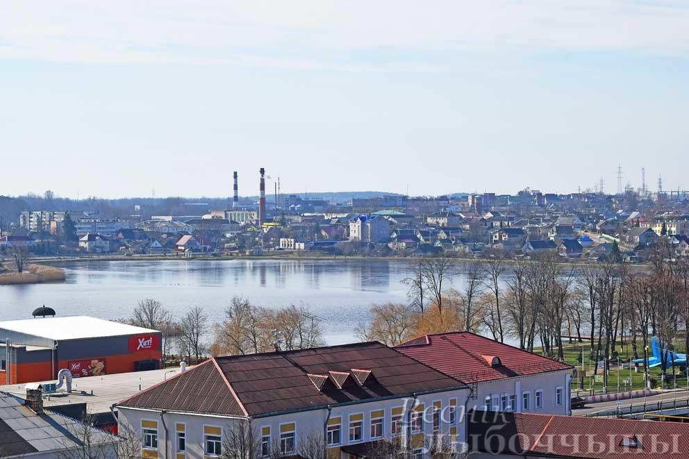 Глубокое центр города озеро Кагальное