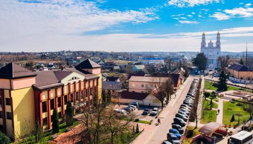 Фото города Глубокое Витебской области