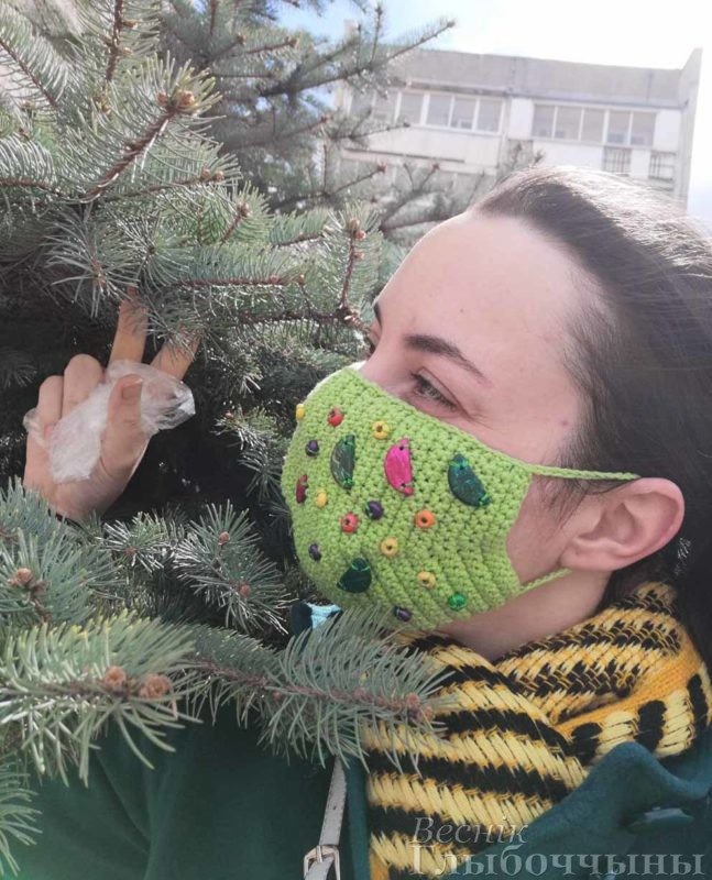 Автор маски – Мишкуро Екатерина