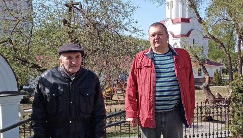 Михаил Савицкий с сыном