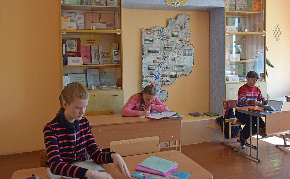 в Залесской детский сад-средней школе