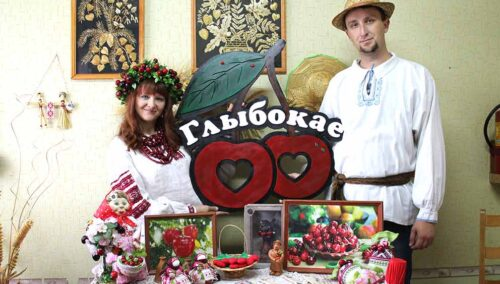 вишневый фестиваль в Глубоком