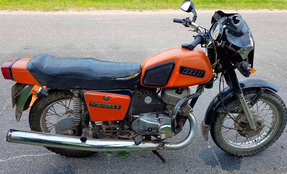 в глубокском районе погиб мотоциклист