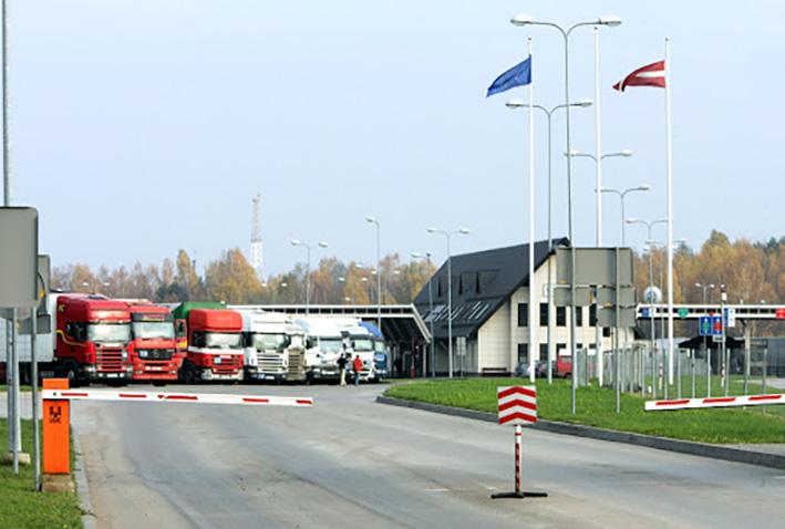 граница Латвии