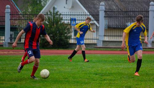 футбол в Глубоком