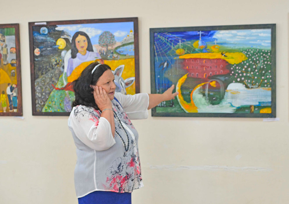 выставка Людмилы Андилевко