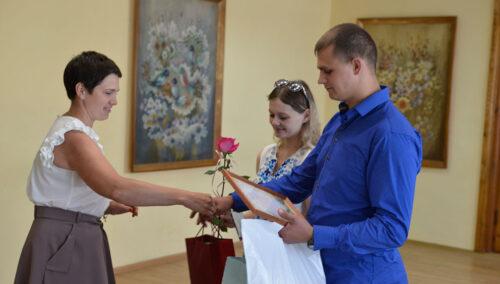 В Глубоком в День вышиванки  зарегистрировали  100-го малыша