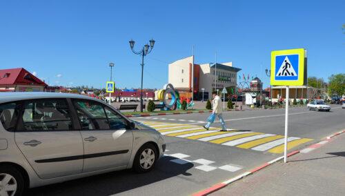 Глубокое пешеходный переход