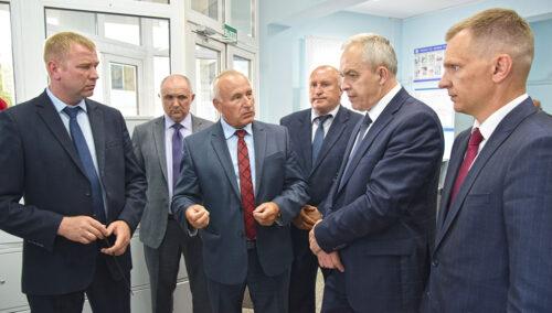 визитом посетили Глава Администрации Президента Республики Беларусь Игорь Сергеенко