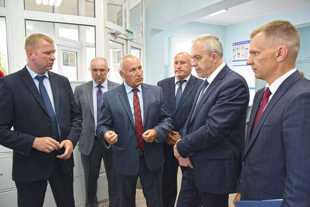 визит Главы Администрации Президента Республики Беларусь Игоря Сергеенко