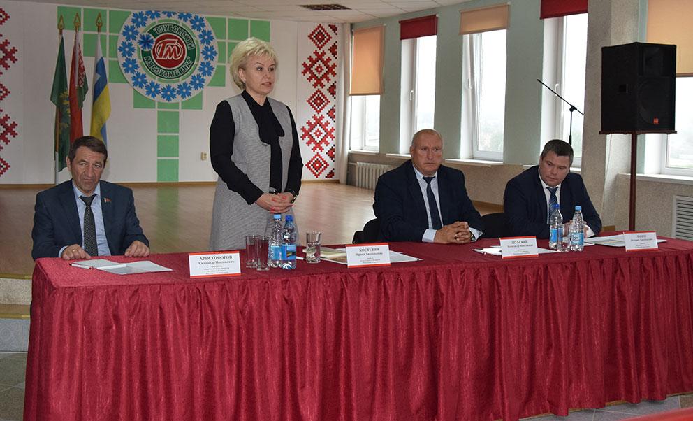 С рабочим визитом Глубокое посетила Министр труда и социальной защиты Республики Беларусь Ирина Костевич