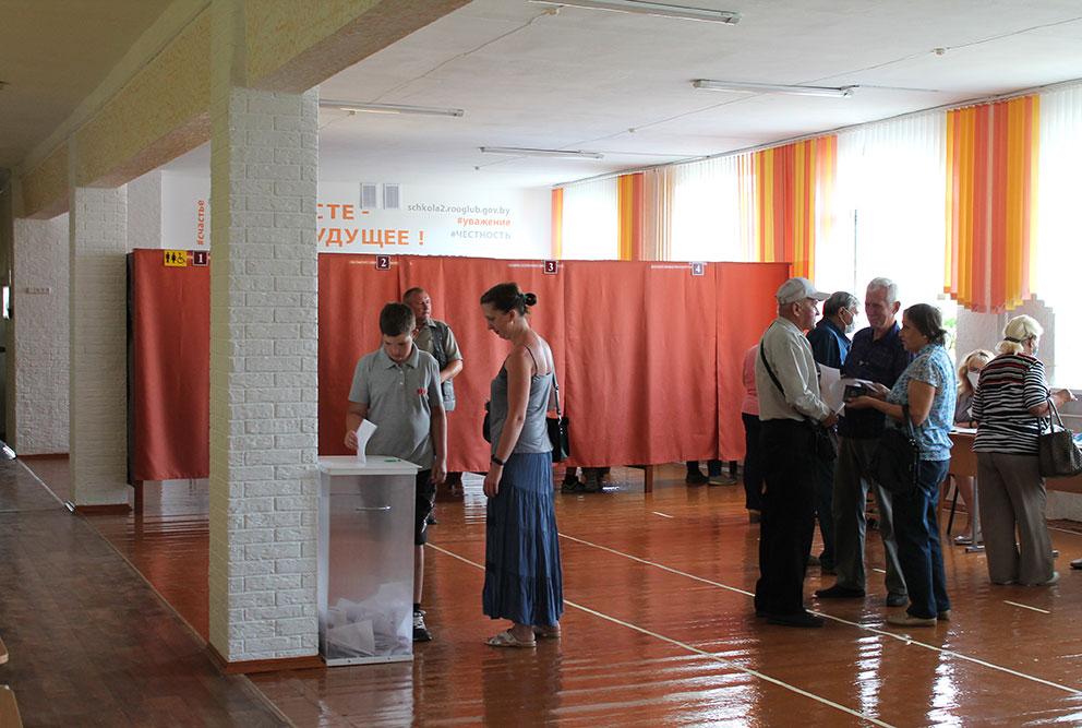 Выборы в Глубоком