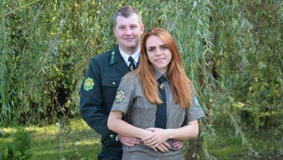 Влюблённые в лес Евгений и Юлия Заблоцкие