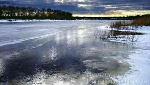 Спасатели Глубокского района предупреждают об опасности первого льда