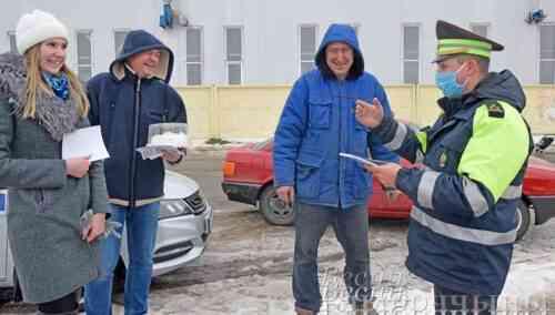 В Глубоком  проведена акция, посвящённая Дню защитников Отечества и Вооружённых Сил Республики Беларусь (фото)