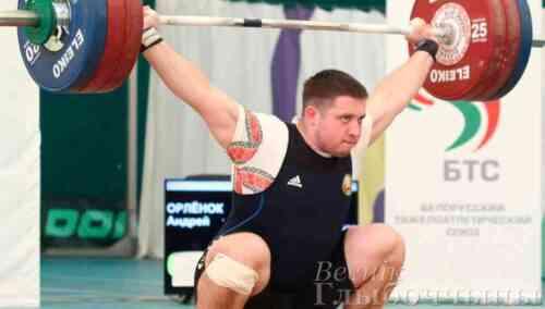 На чемпионате Европы в Москве глубочанин Андрей Орленок занял 8 место
