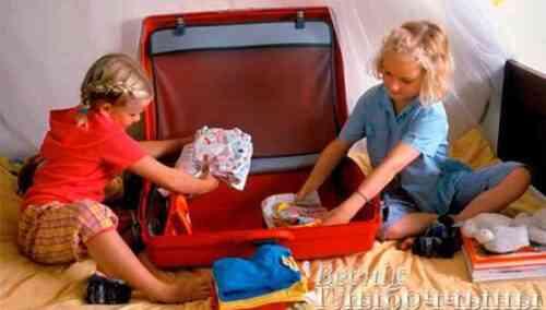 Что нужно взять с собой в оздоровительный лагерь?